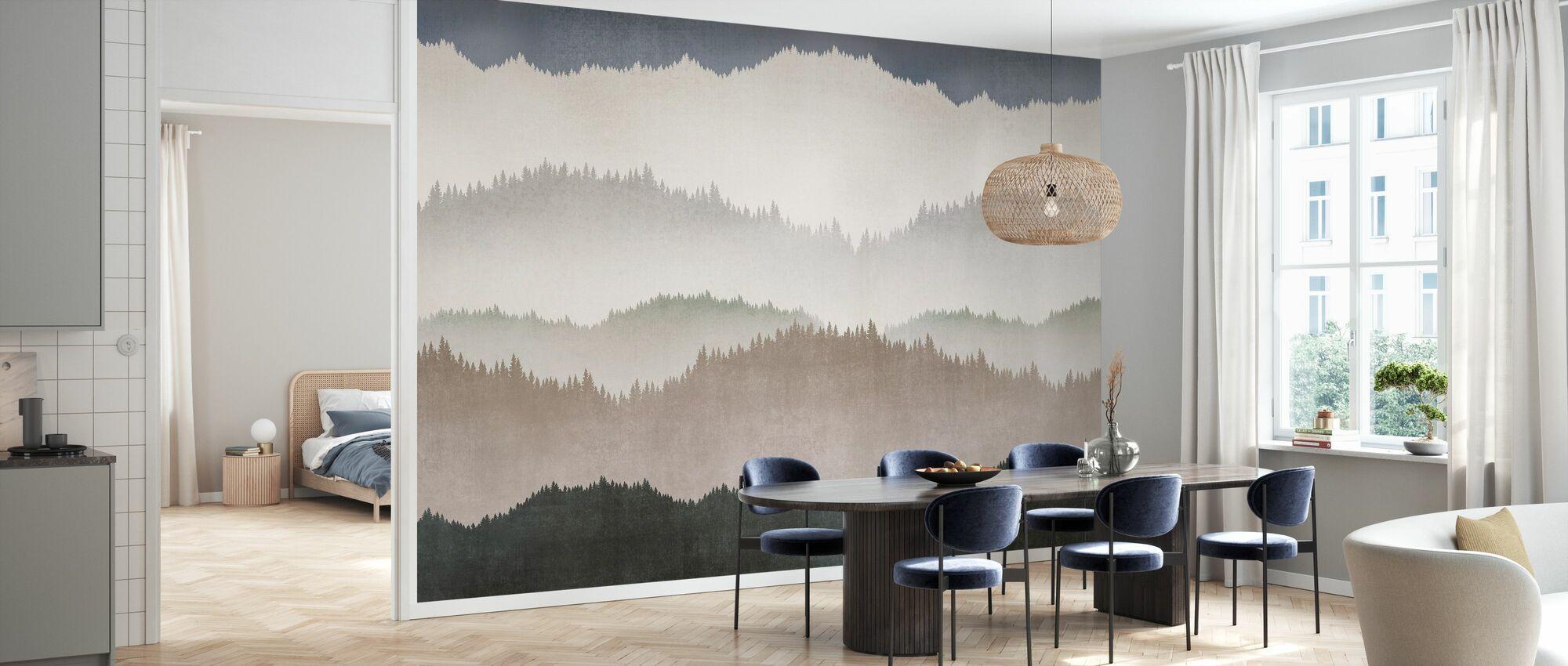 Landscape Greige - Wallpaper - Kitchen
