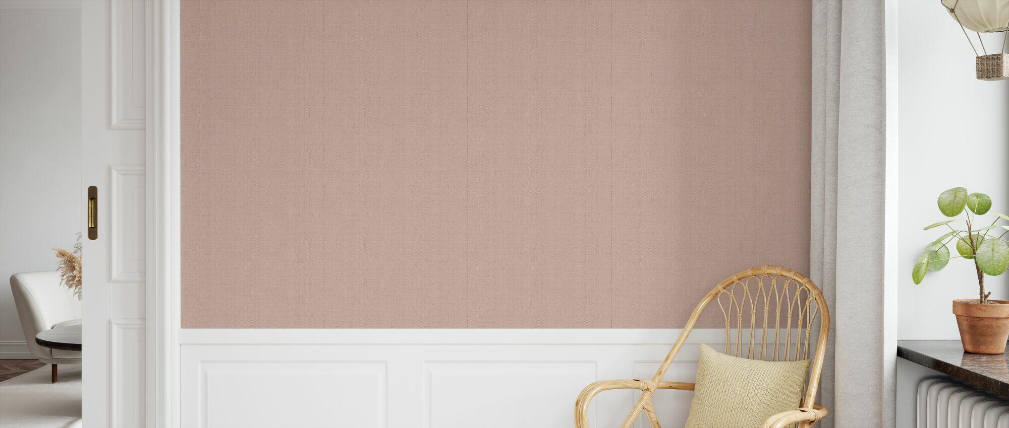 Linen Pink - Wallpaper - Kids Room