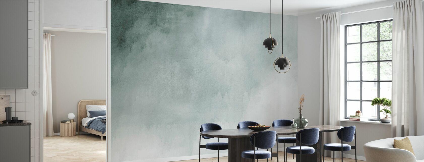 Aquarell Grün - Tapete - Küchen