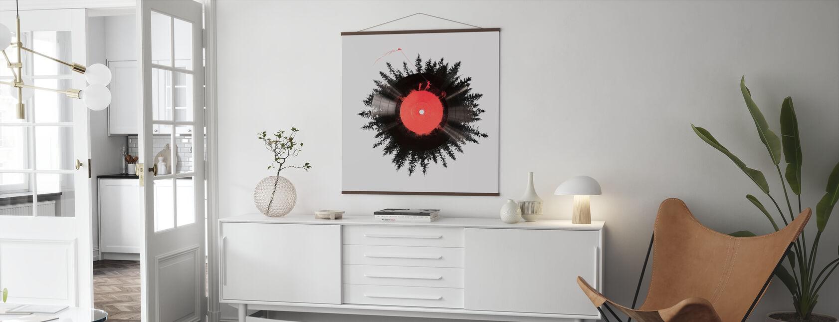 Vinyl av mitt liv - Plakat - Stue