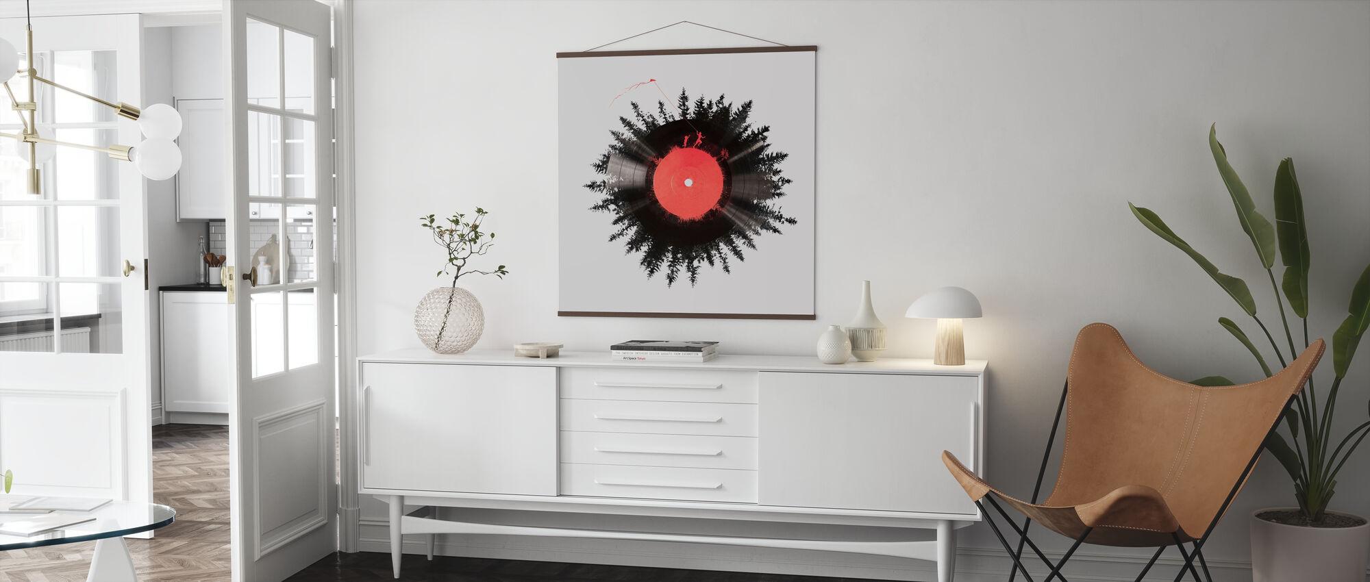 Das Vinyl meines Lebens - Poster - Wohnzimmer