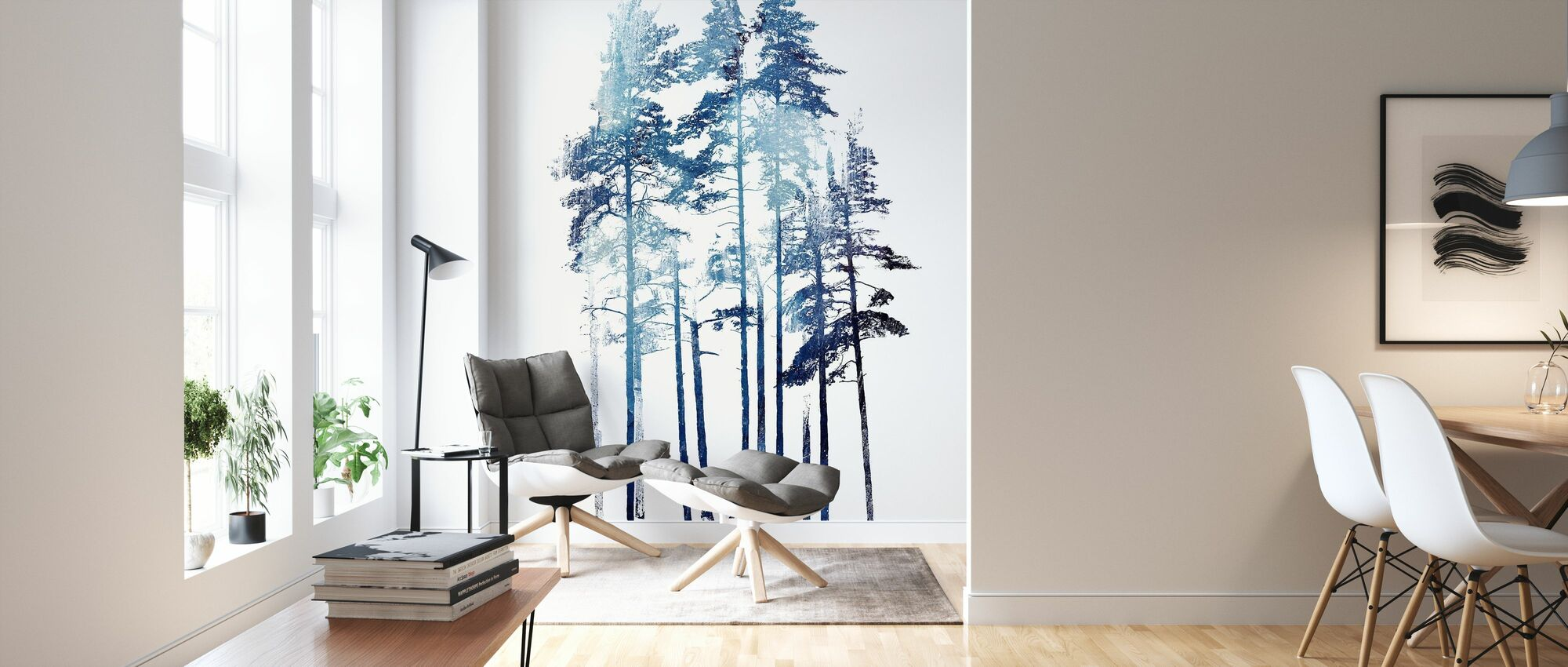 Winter Wolf - Wallpaper - Living Room