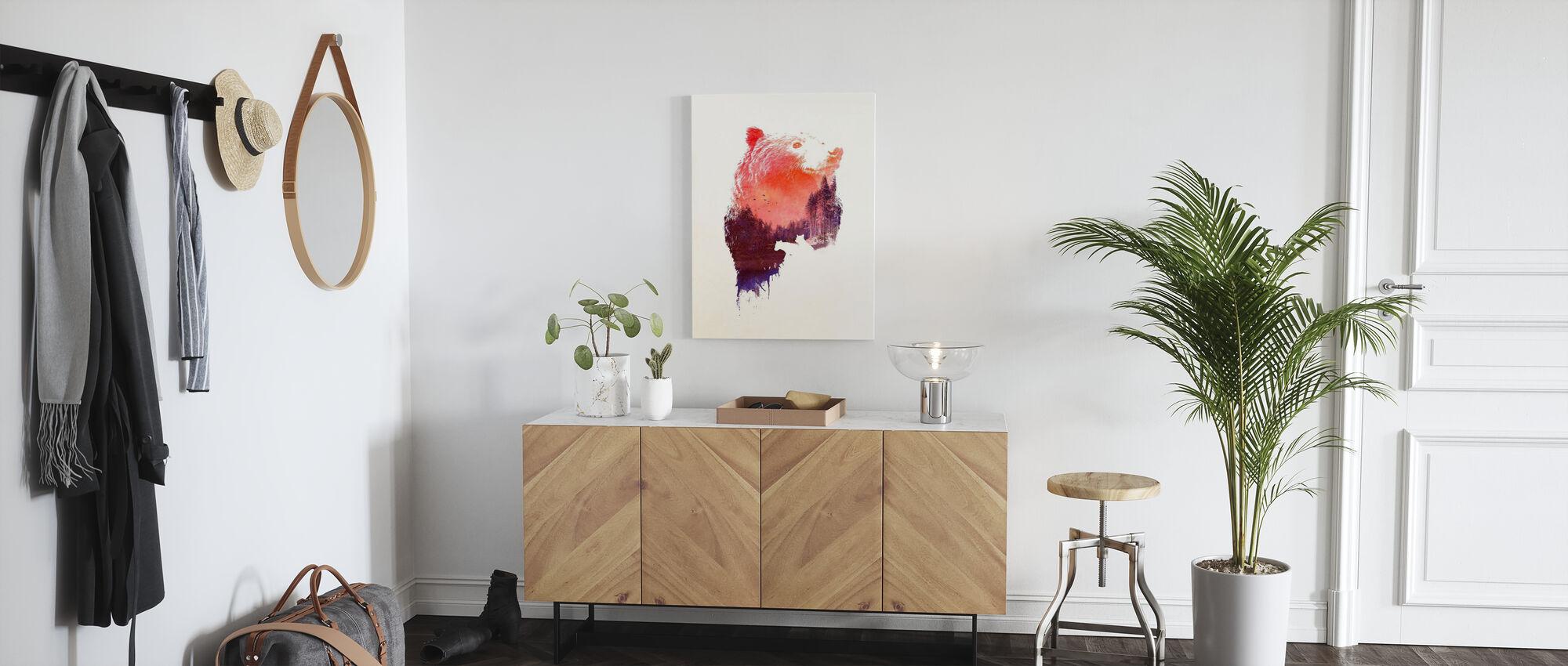 Love Forever - Canvas print - Hallway