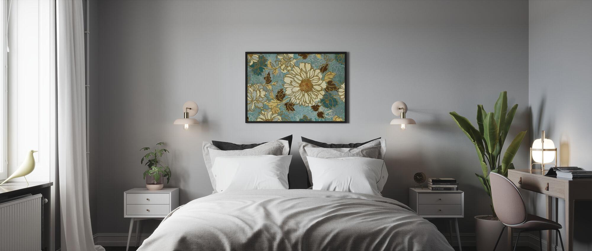 Kevään heijastus - Kehystetty kuva - Makuuhuone
