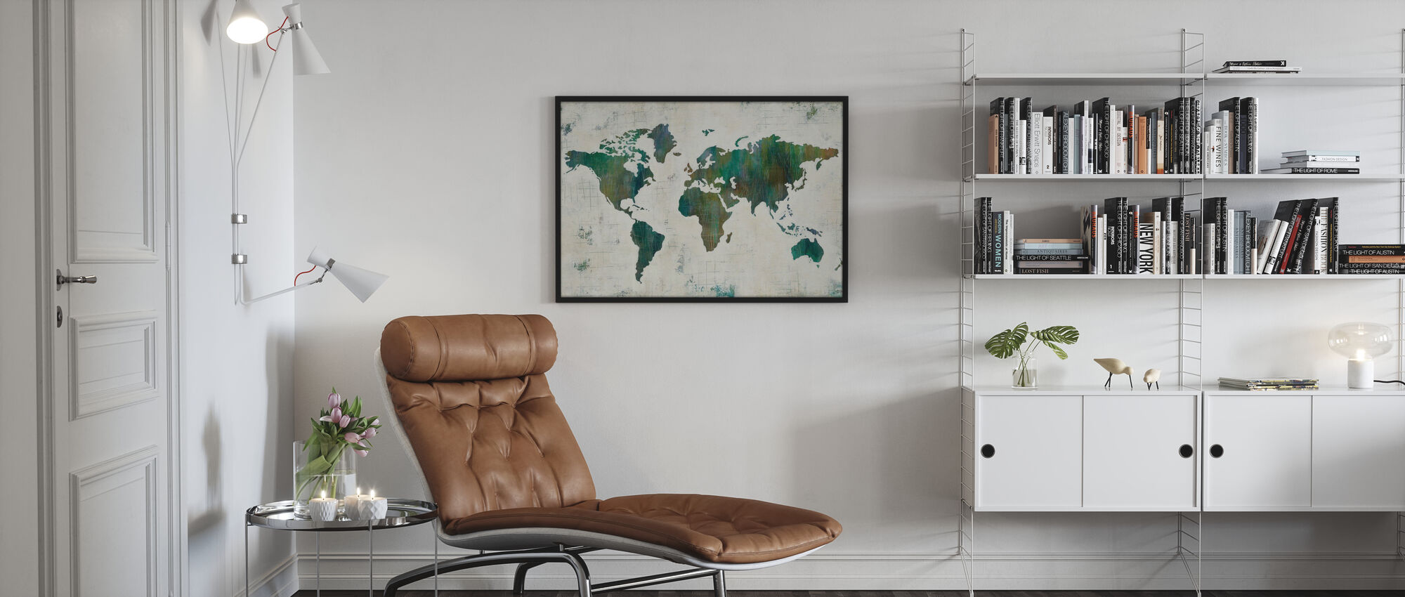 Discover the World - Poster - Living Room