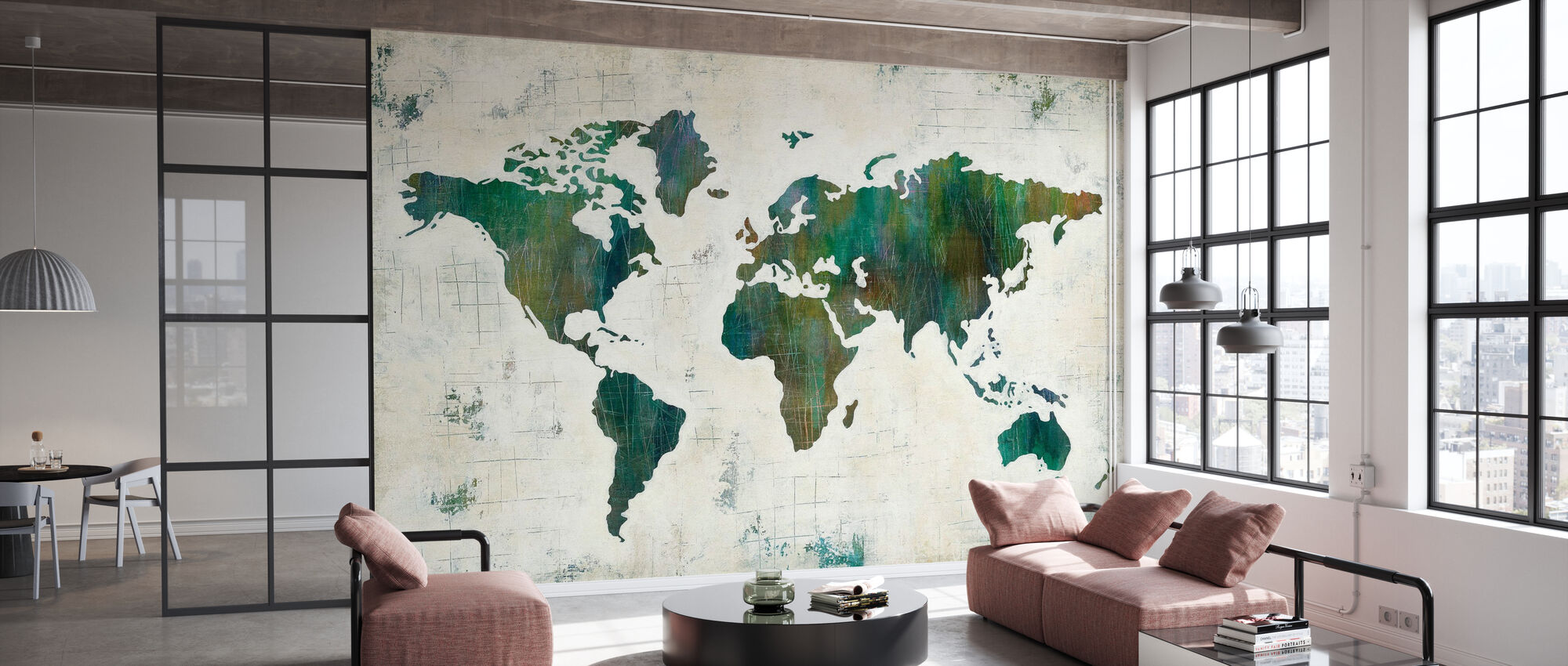Discover the World - Wallpaper - Office