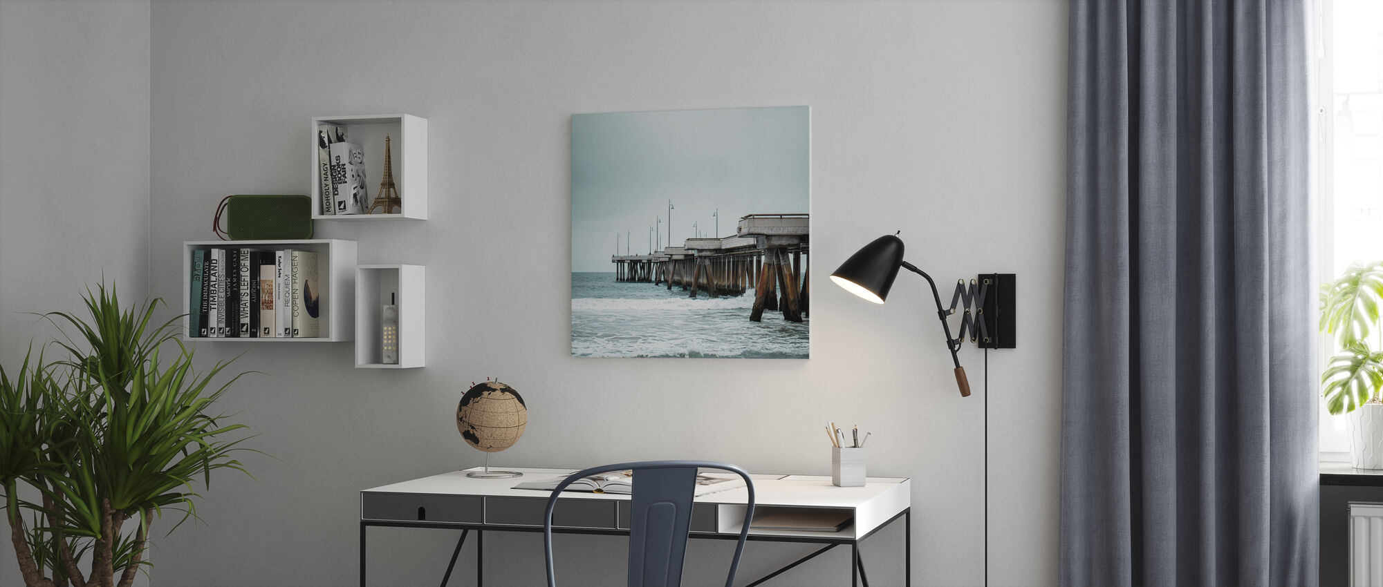 Pacific Cool - Canvas print - Office