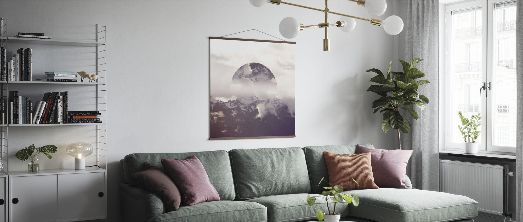 Reflected Landscape 2 - Poster - Living Room