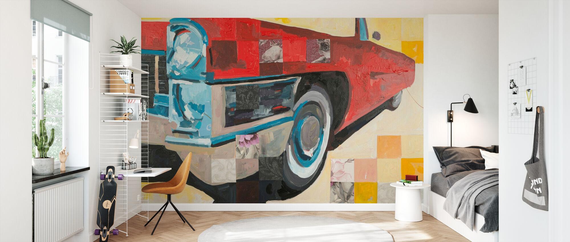 Love Ride - Wallpaper - Kids Room