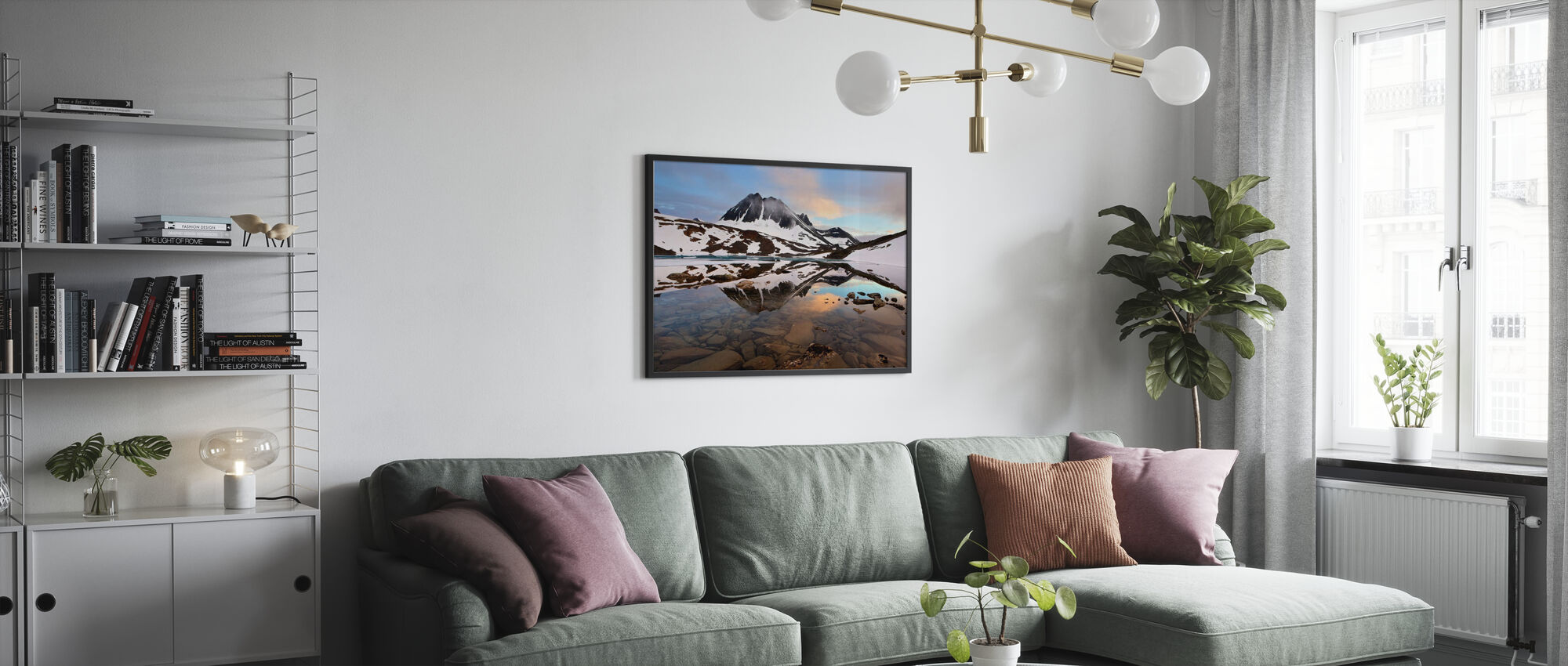 Lapland Glacial, Svezia - Poster - Salotto