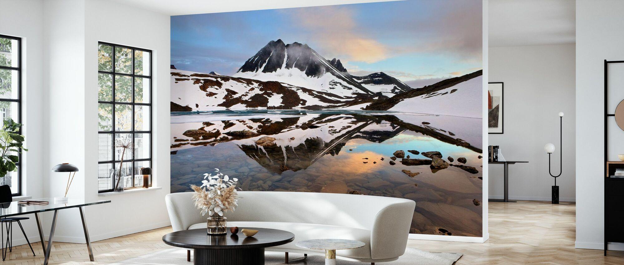 Lappland Glacial, Sverige - Tapet - Vardagsrum