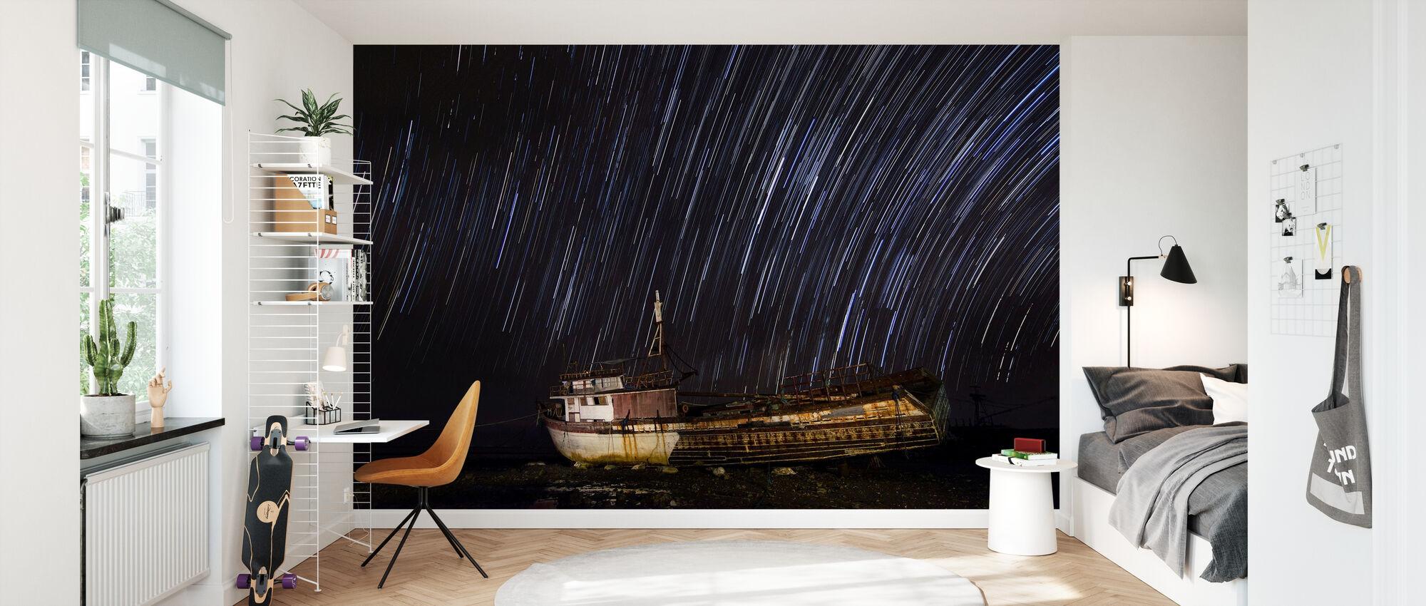 Santa Cruz Star Trail - Wallpaper - Kids Room