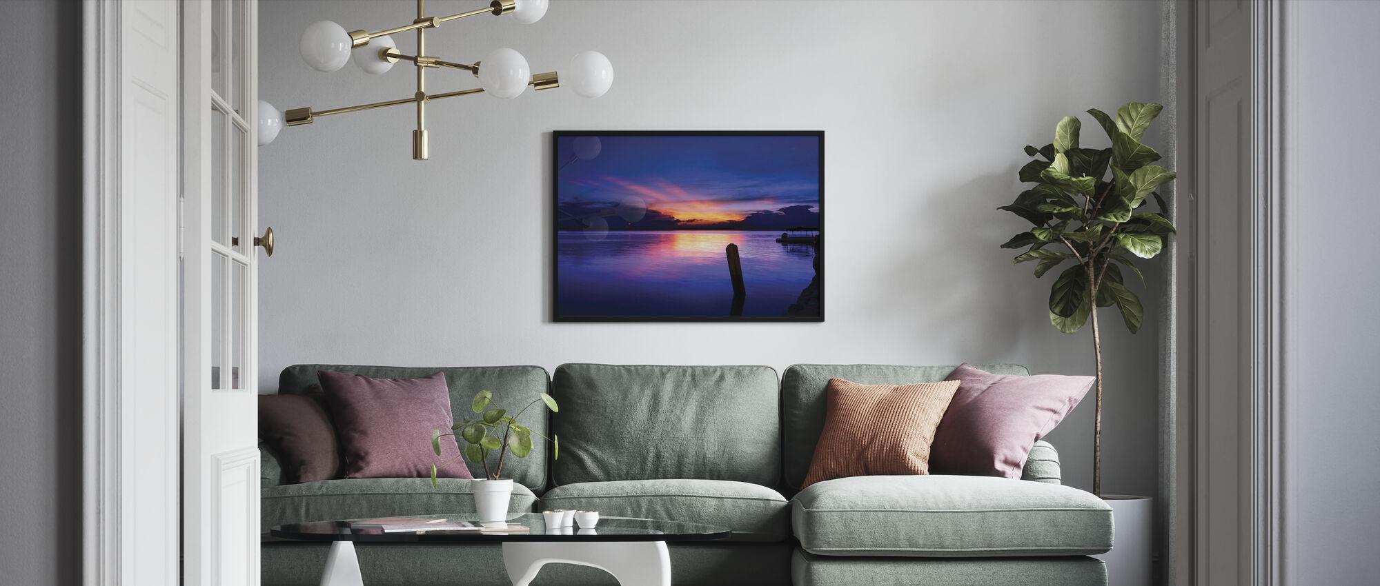 Sunrise at Sta Ana - Poster - Living Room