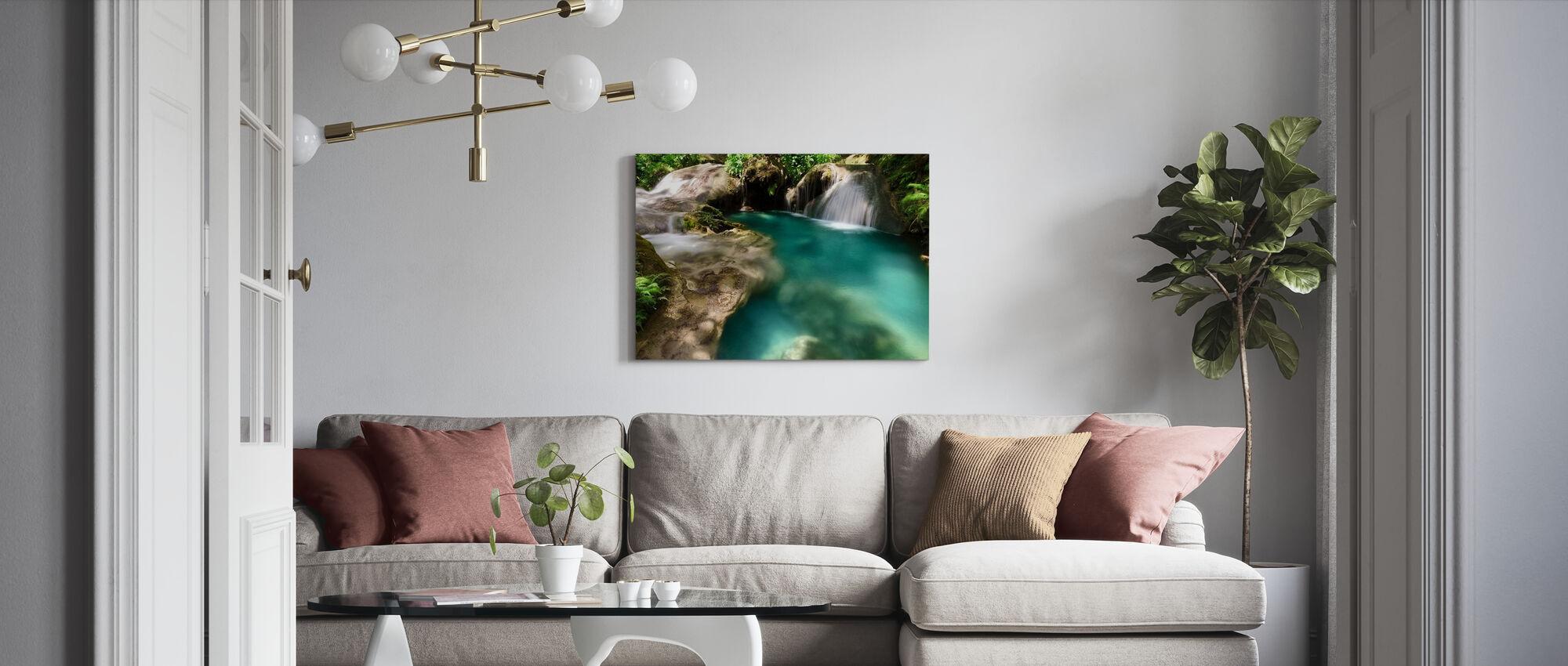 Hagimit Waterfalls - Canvas print - Living Room