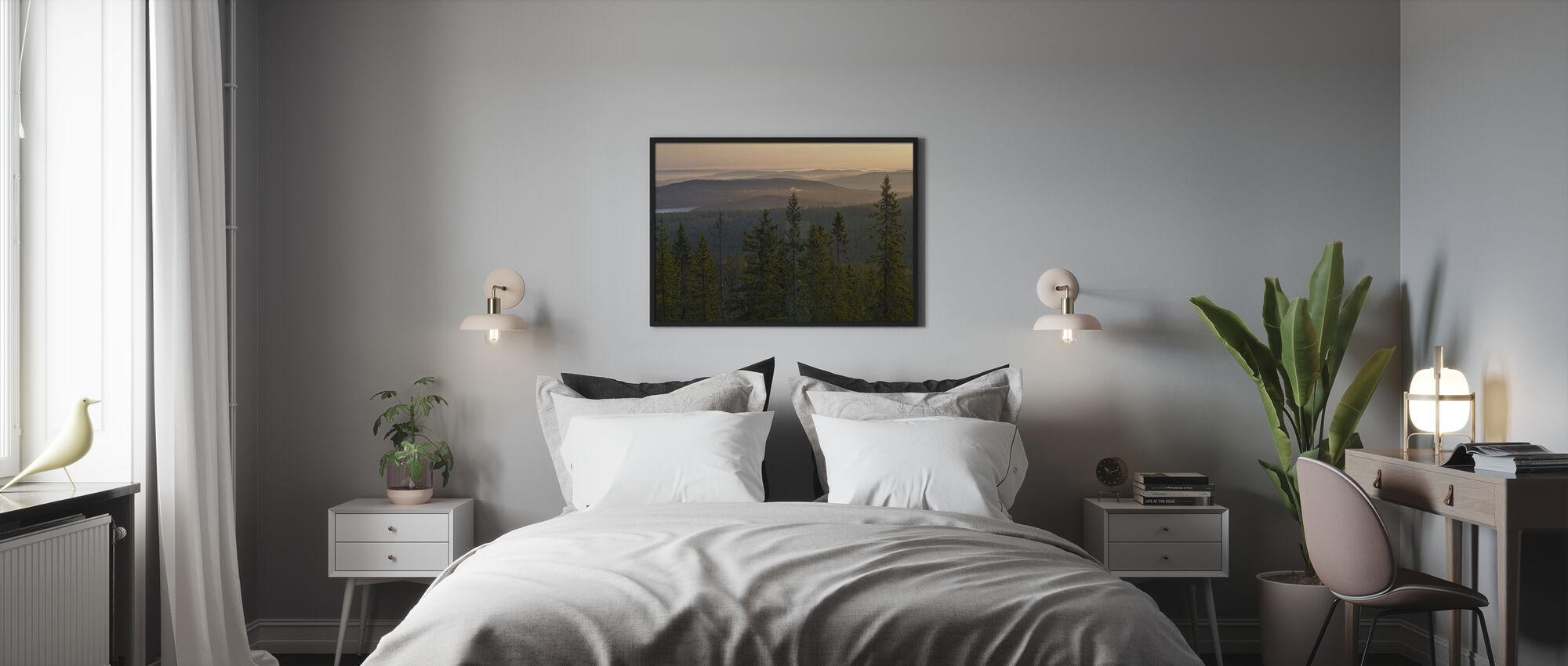 Skuleskogen National Park Spruces, Sverige - Plakat - Soveværelse