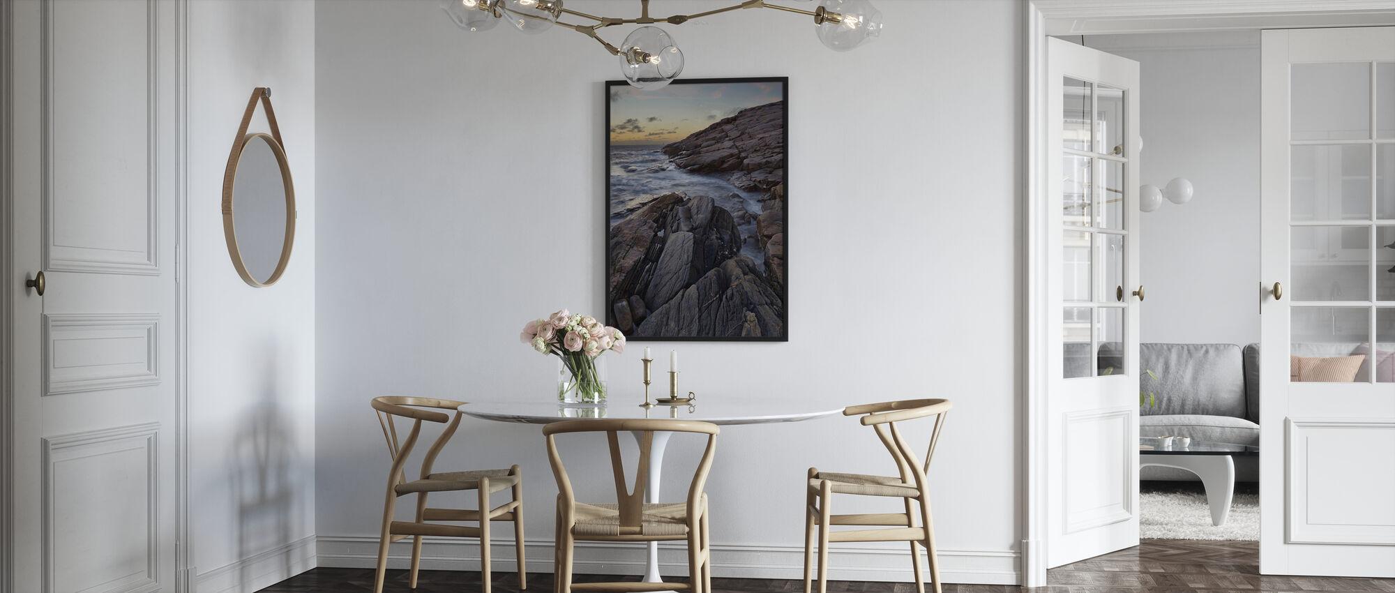 Klippor i Grebbestad, Sverige - Inramad tavla - Kök