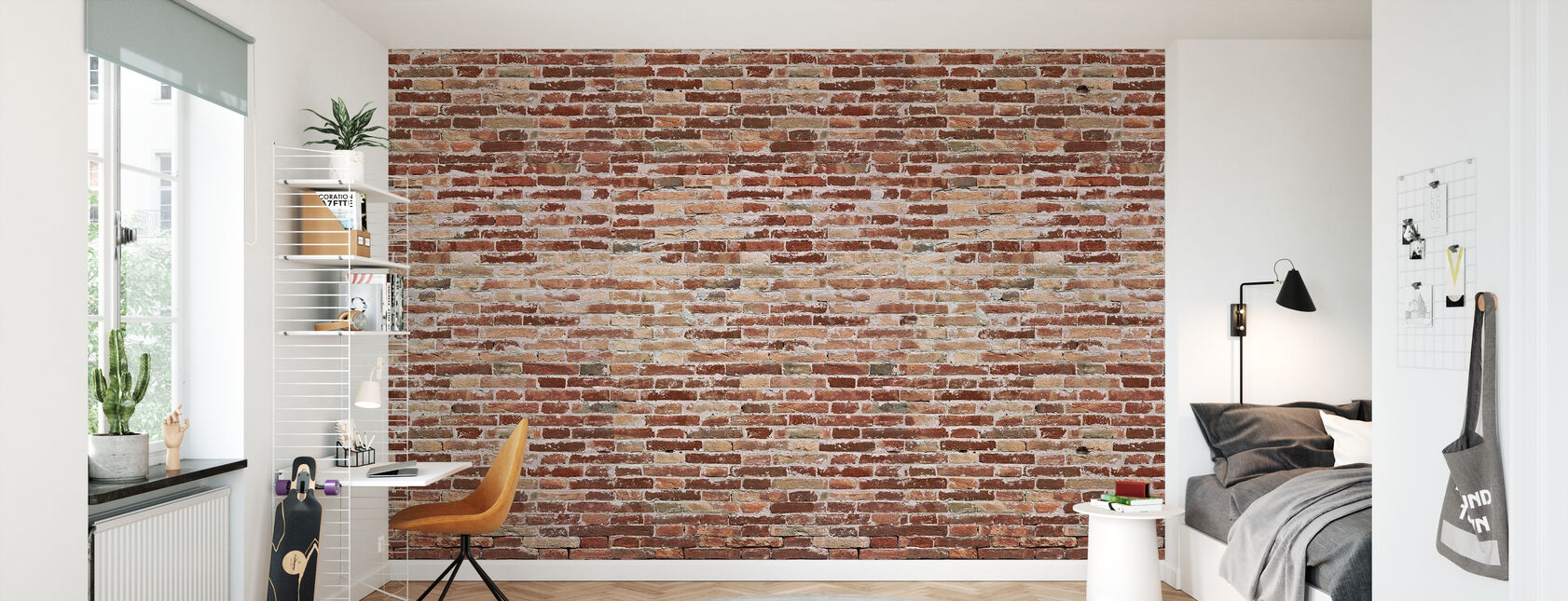 Vieux mur de briques Ruff - Papier peint - Chambre des enfants