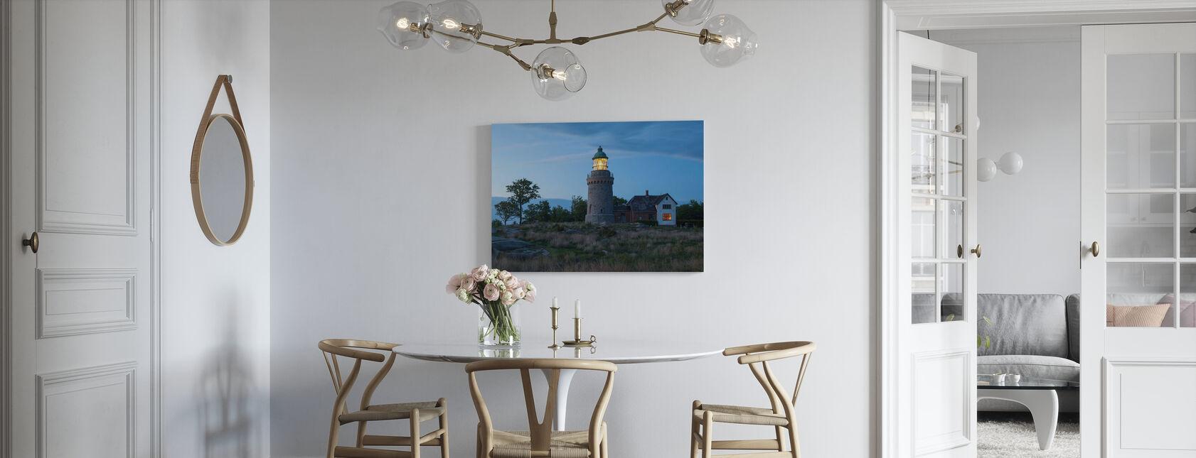 Fyr i Bornholm, Danmark - Canvastavla - Kök
