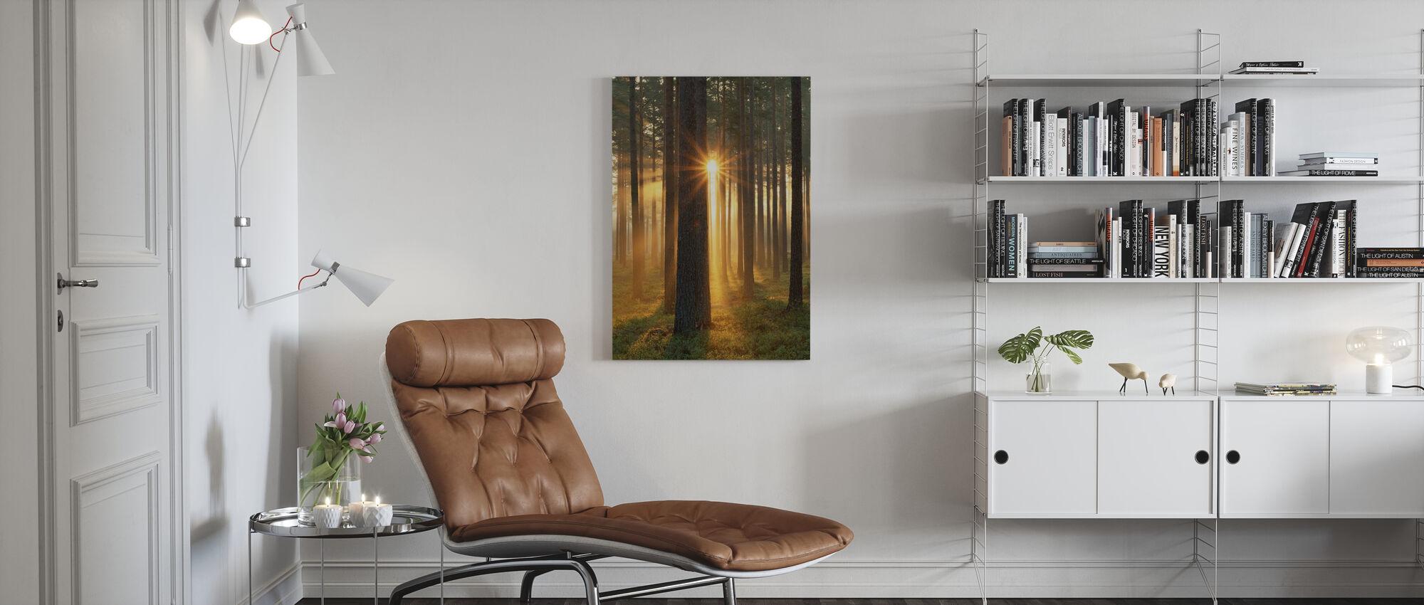 Autumn Sunbeam - Canvas print - Living Room