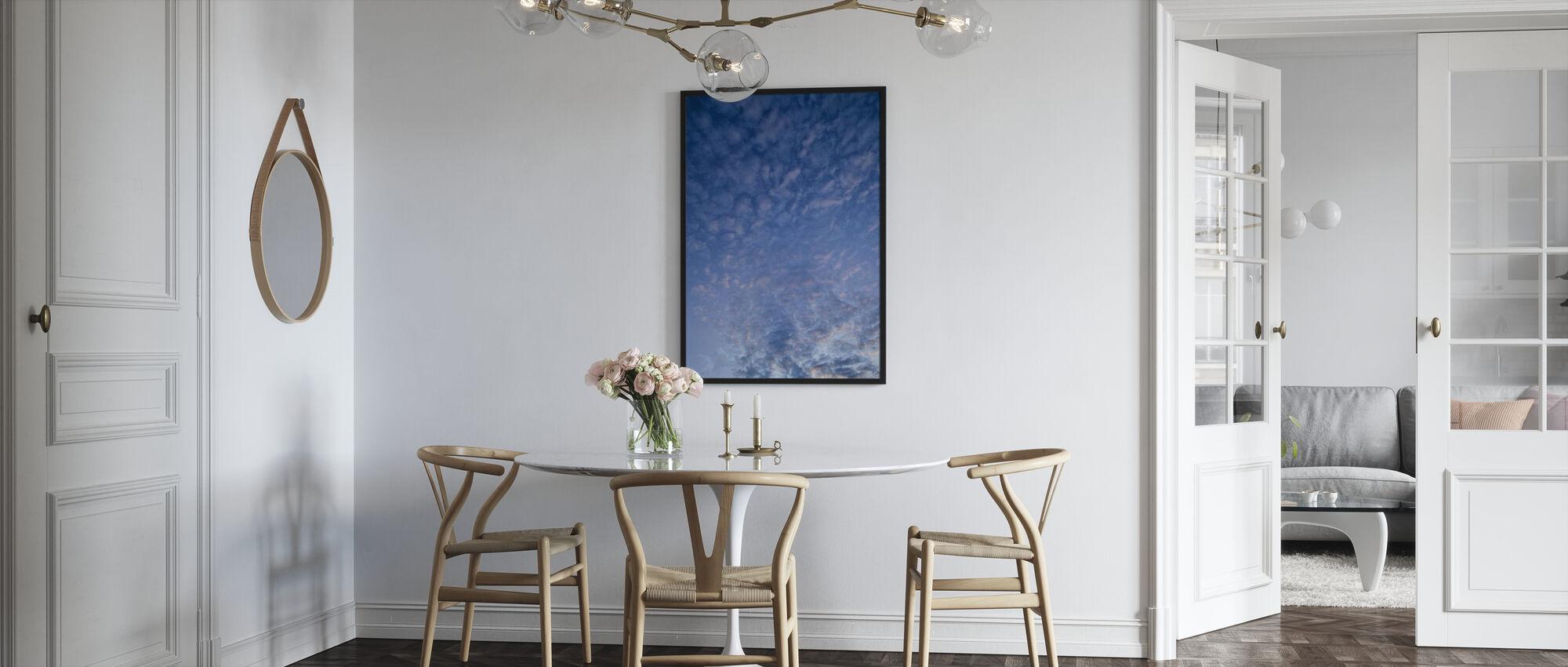 Blauwe Cloudscape - Poster - Keuken