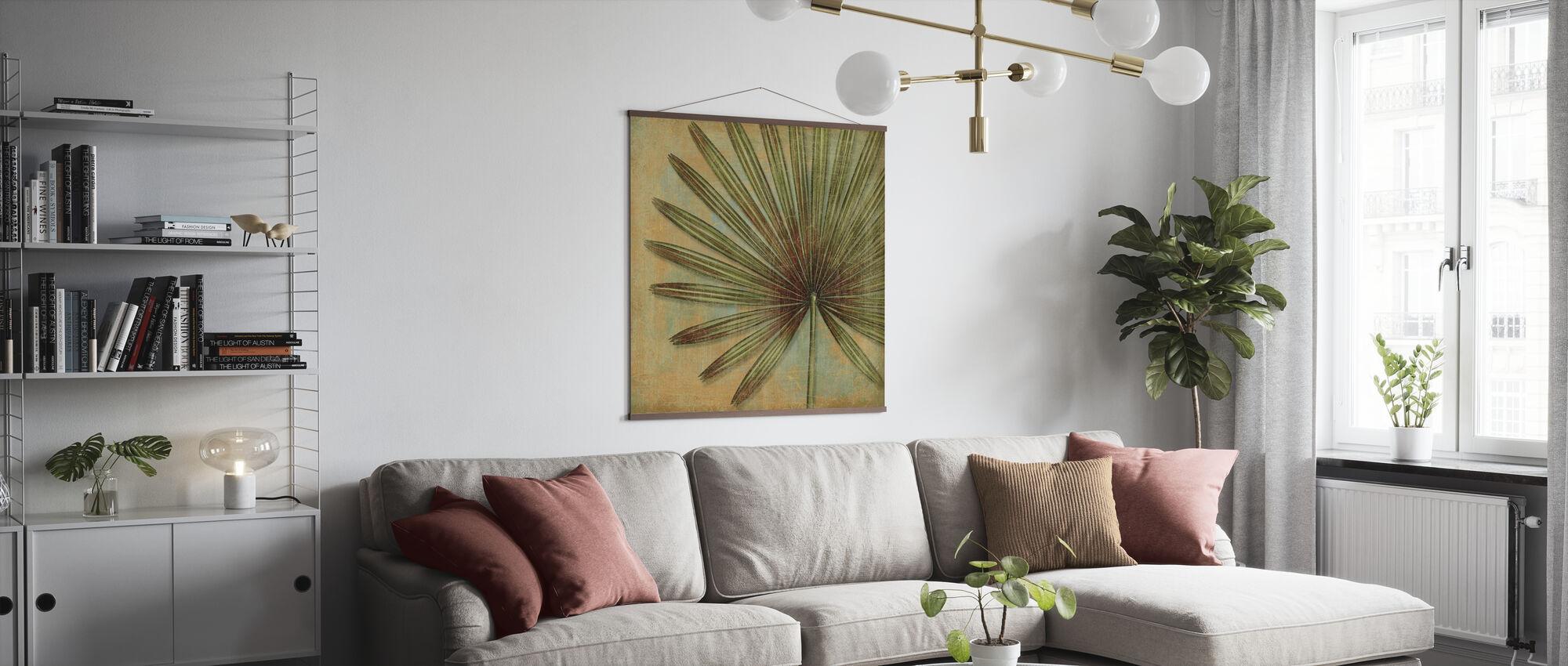 Grön Tropic - Poster - Vardagsrum