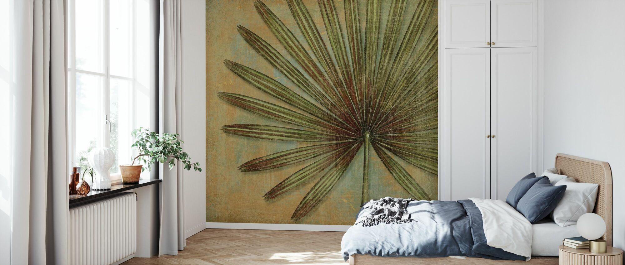 Groene Tropic - Behang - Slaapkamer