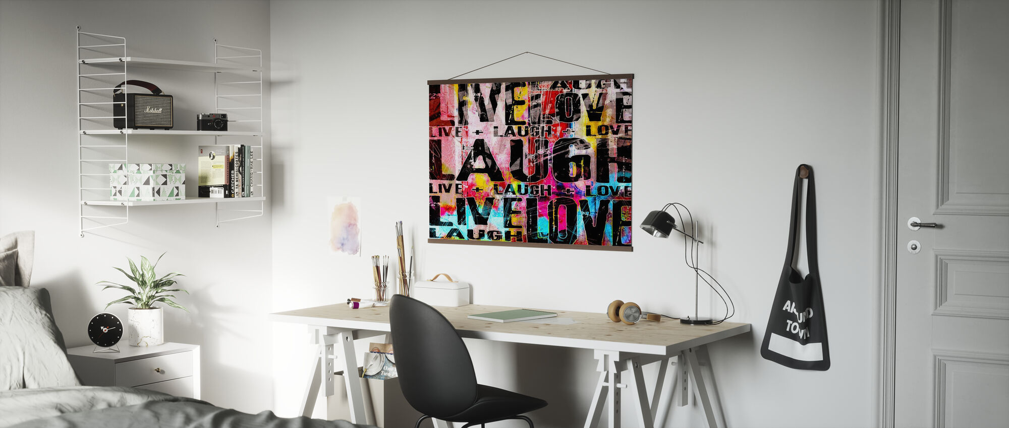 Live Laugh Love - Poster - Office