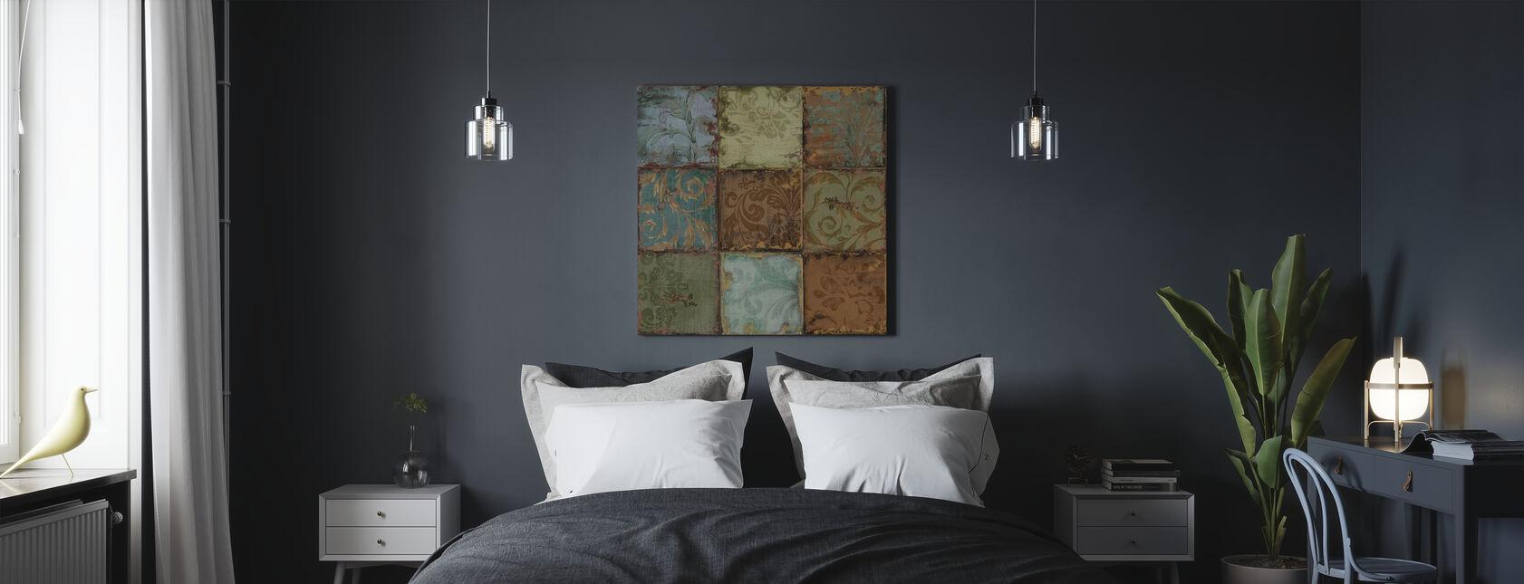 Tapestry Tegels 1 - Canvas print - Slaapkamer