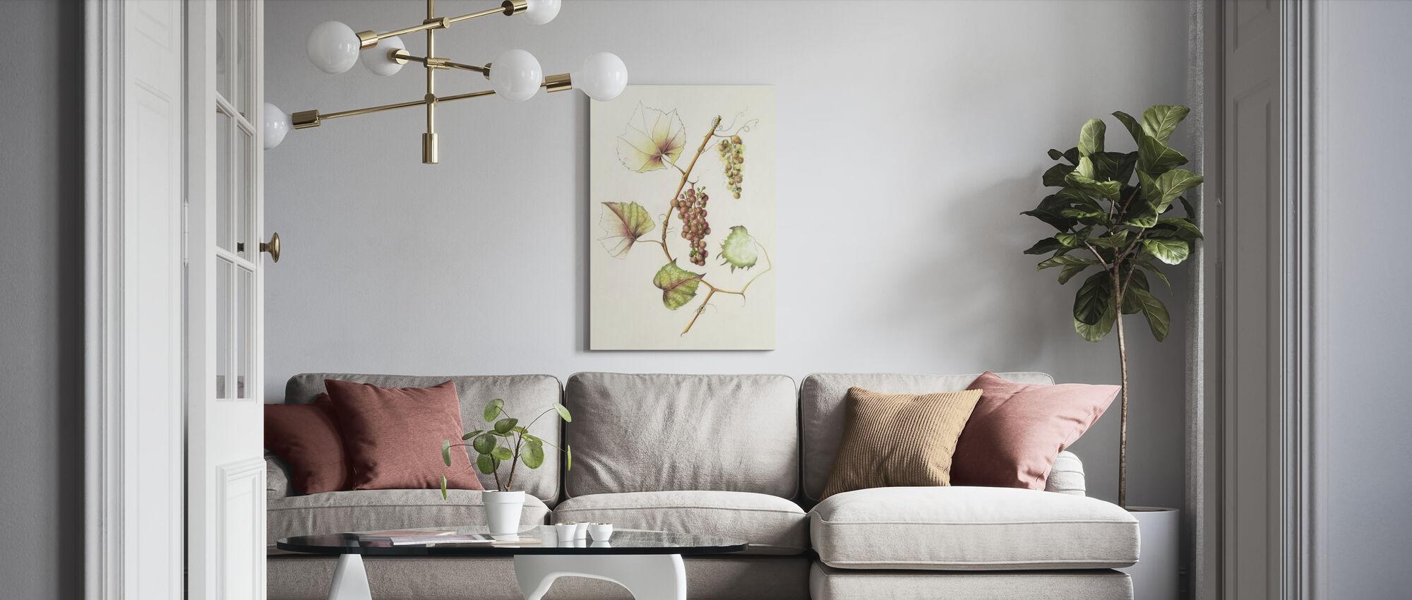 Concord Grapes - Canvas print - Living Room