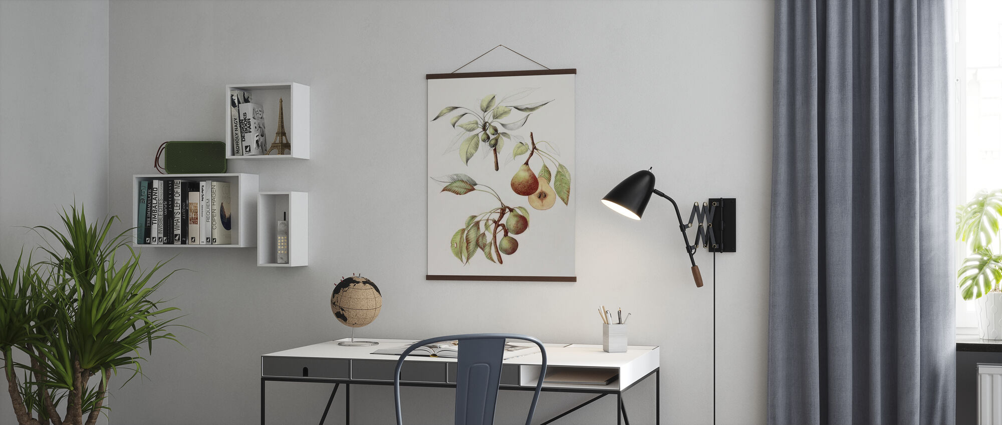 Pine Street Pears - Poster - Office