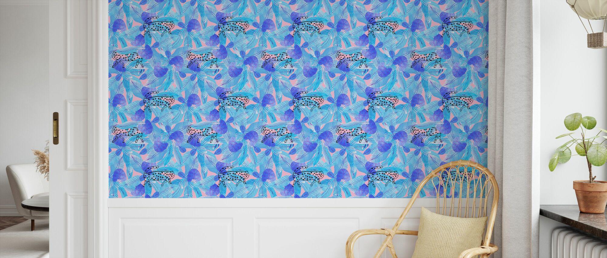 Leopard - Wallpaper - Kids Room