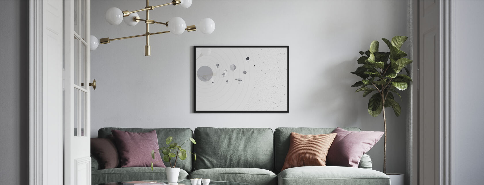 Planets and Stars - Poster - Living Room