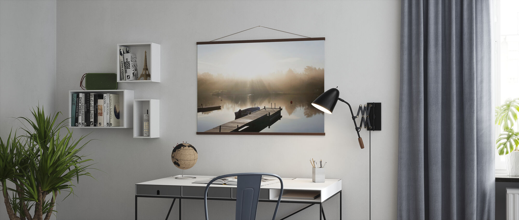 Pier in Roslagen, Sweden - Poster - Office