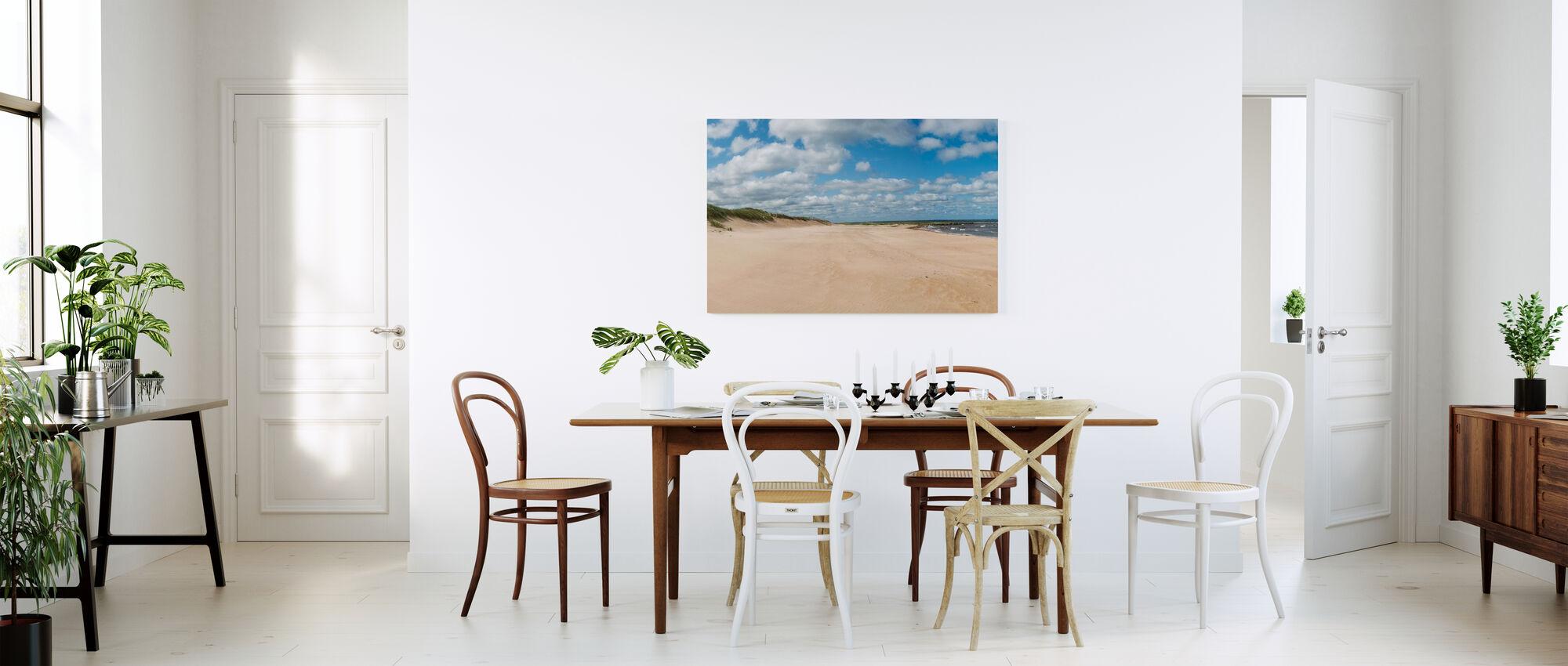 Vejbystrand in Skåne, Zweden - Canvas print - Keuken