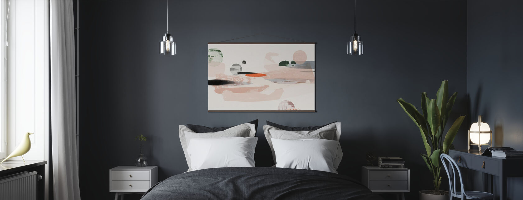 Abstraction cosmique - Affiche - Chambre