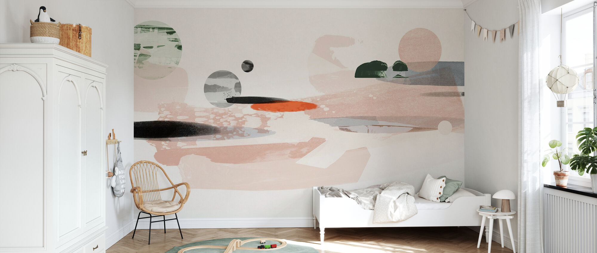 Cosmic Abstraction - Wallpaper - Kids Room