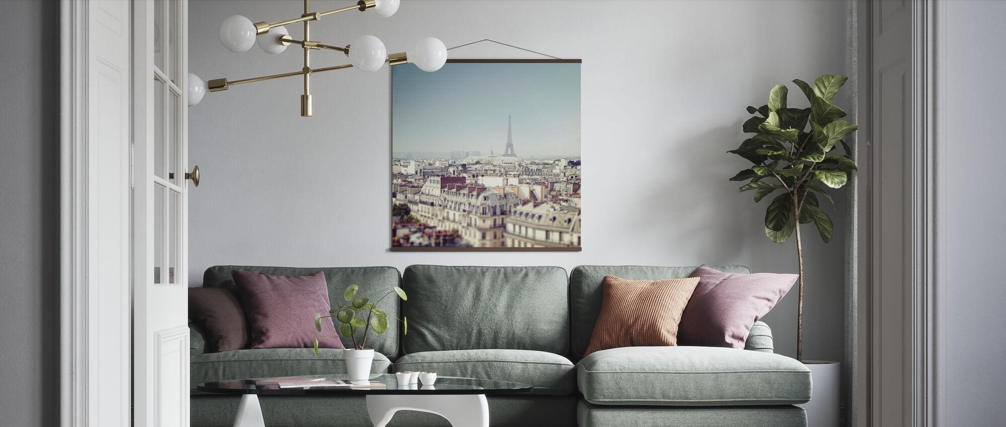 Paris Moments VI - Poster - Living Room