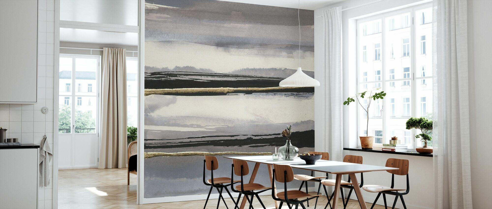 Gilded Grey I - Wallpaper - Kitchen