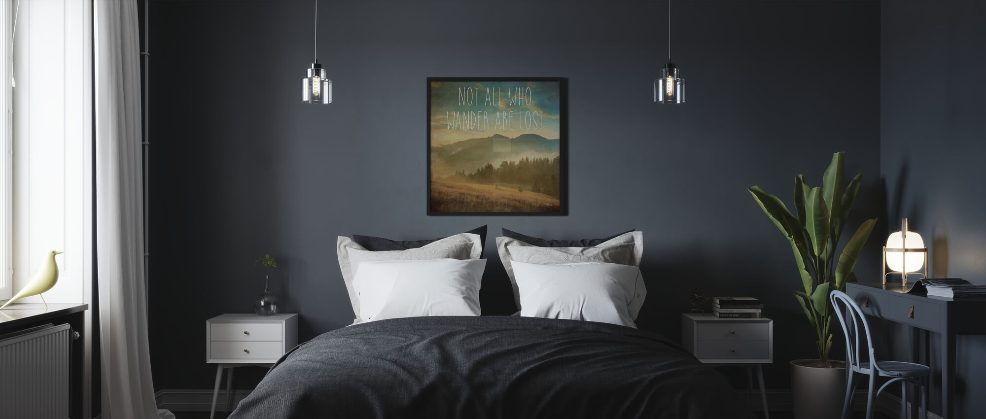 Wander II - Poster - Bedroom