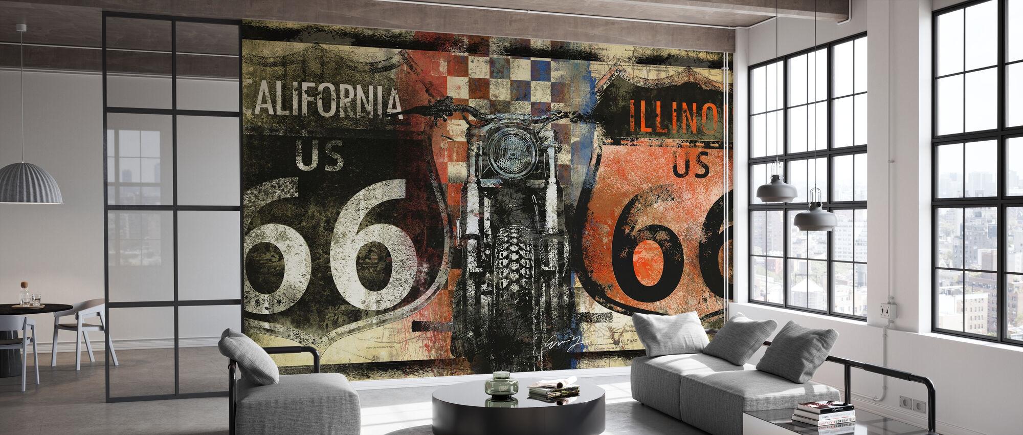 Route 66 California - Wallpaper - Office