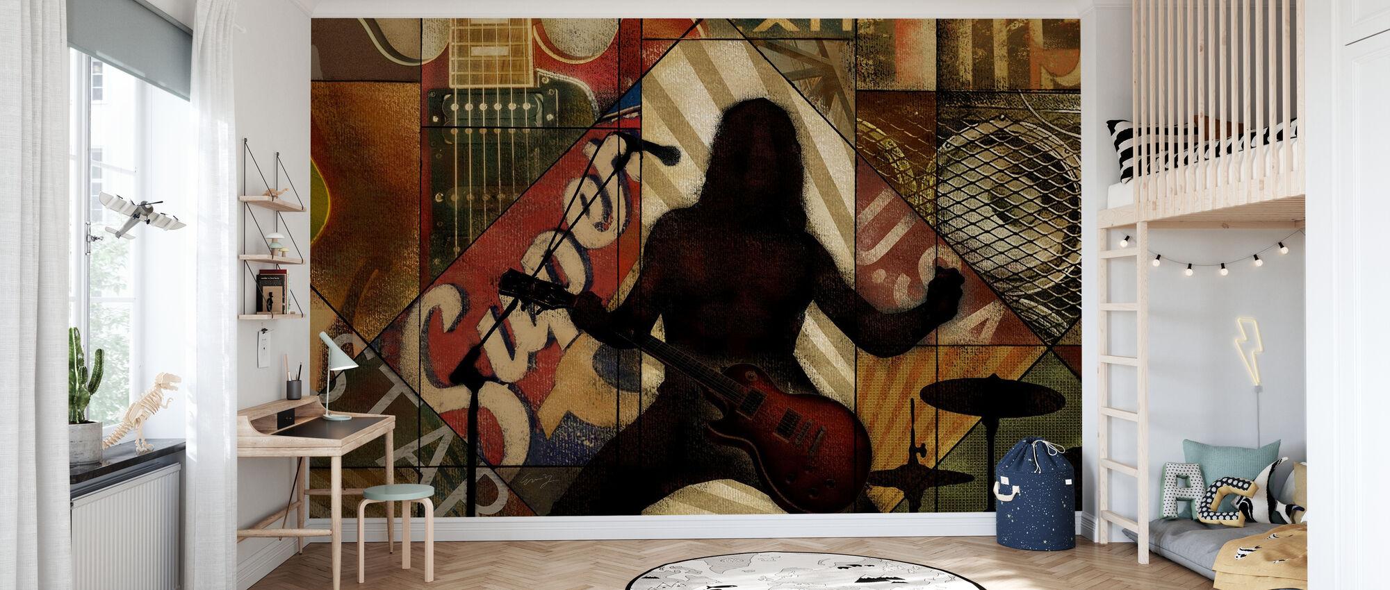 Superstar Rocker - Tapet - Barnerom