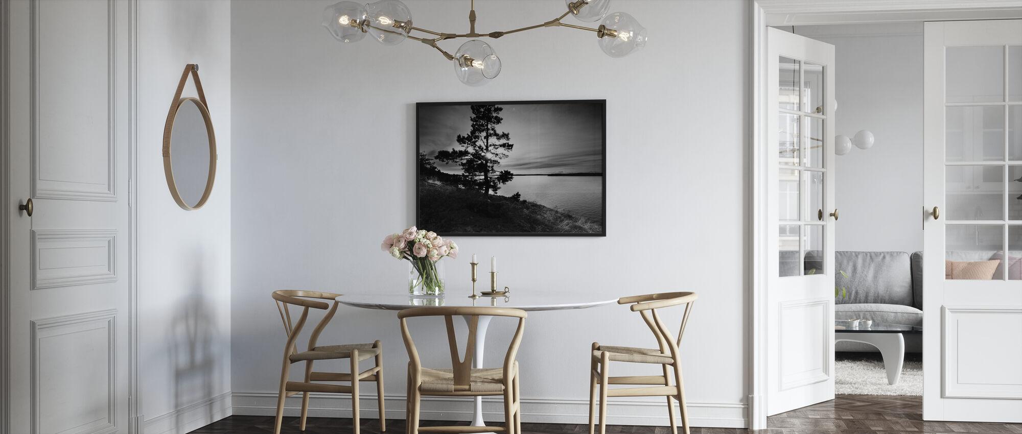 Smådalarö, Sweden, Europe - Inramad tavla - Kök