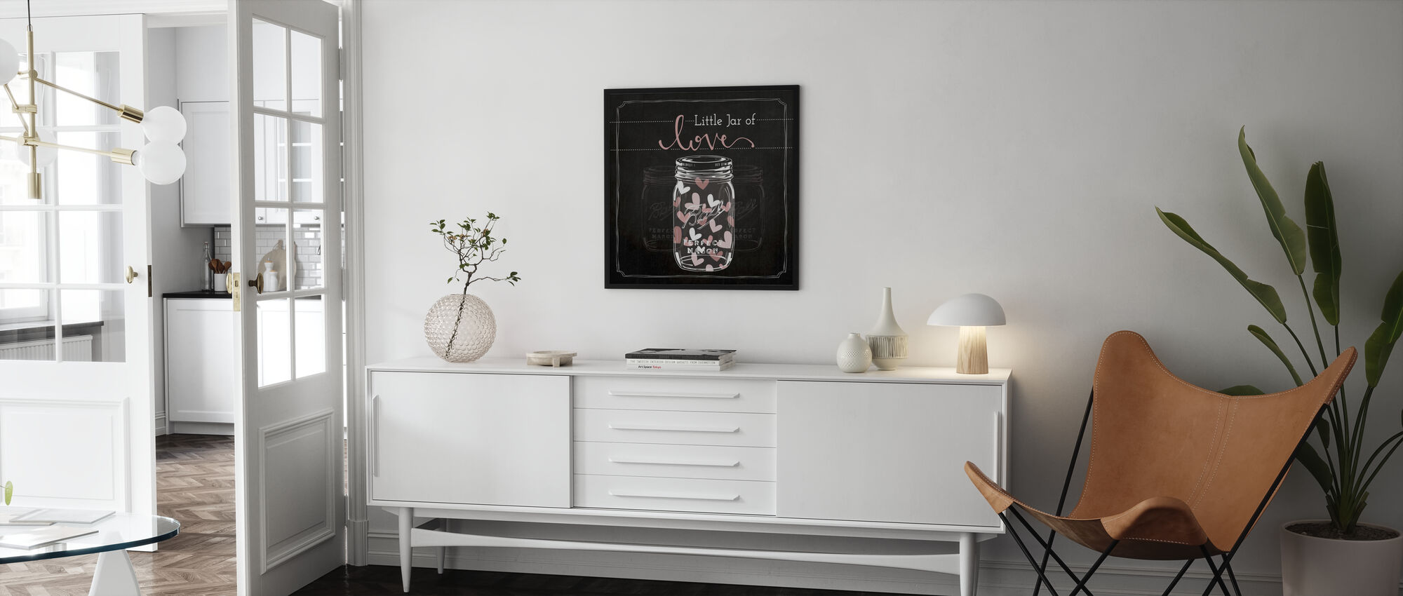 Jar of Love - Framed print - Living Room