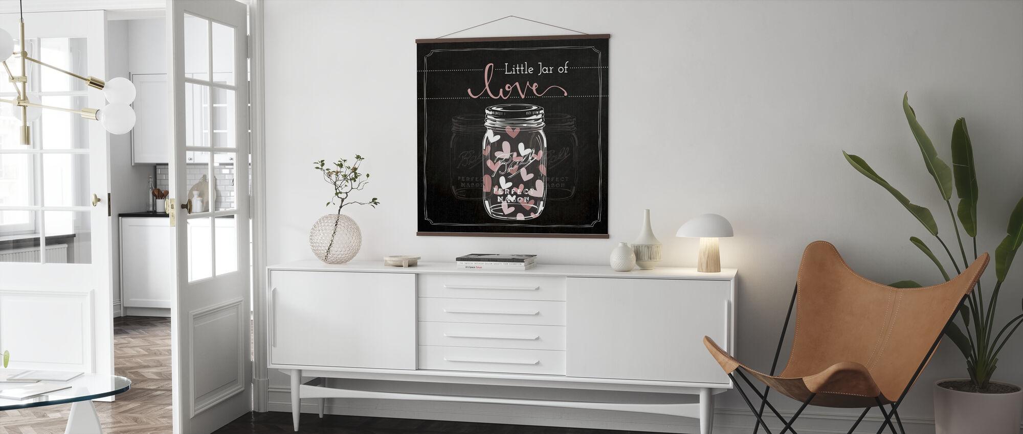 Glas der Liebe - Poster - Wohnzimmer