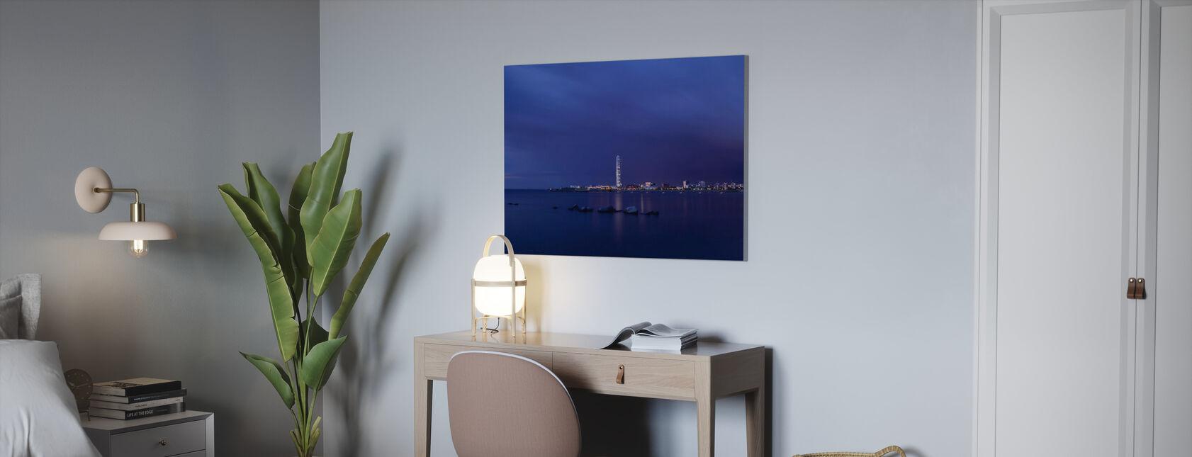 Turning Torso - Malmö Skyline - Canvastavla - Kontor