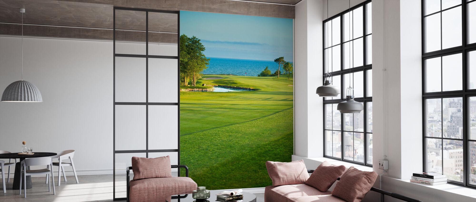 Golfkenttä Stora Lund, Ruotsi - Tapetti - Toimisto