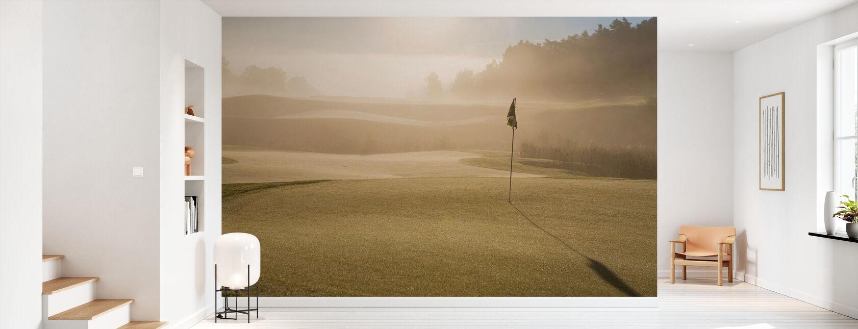 Golf Court in Mölndal, Sweden - Papel pintado - Corredor