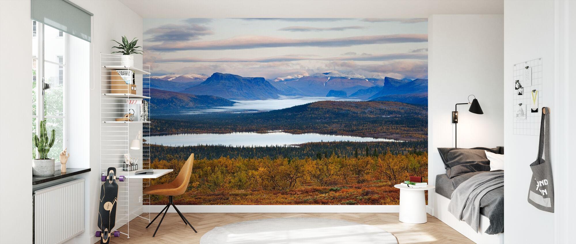 Lappland-Gebirge, Schweden - Tapete - Kinderzimmer