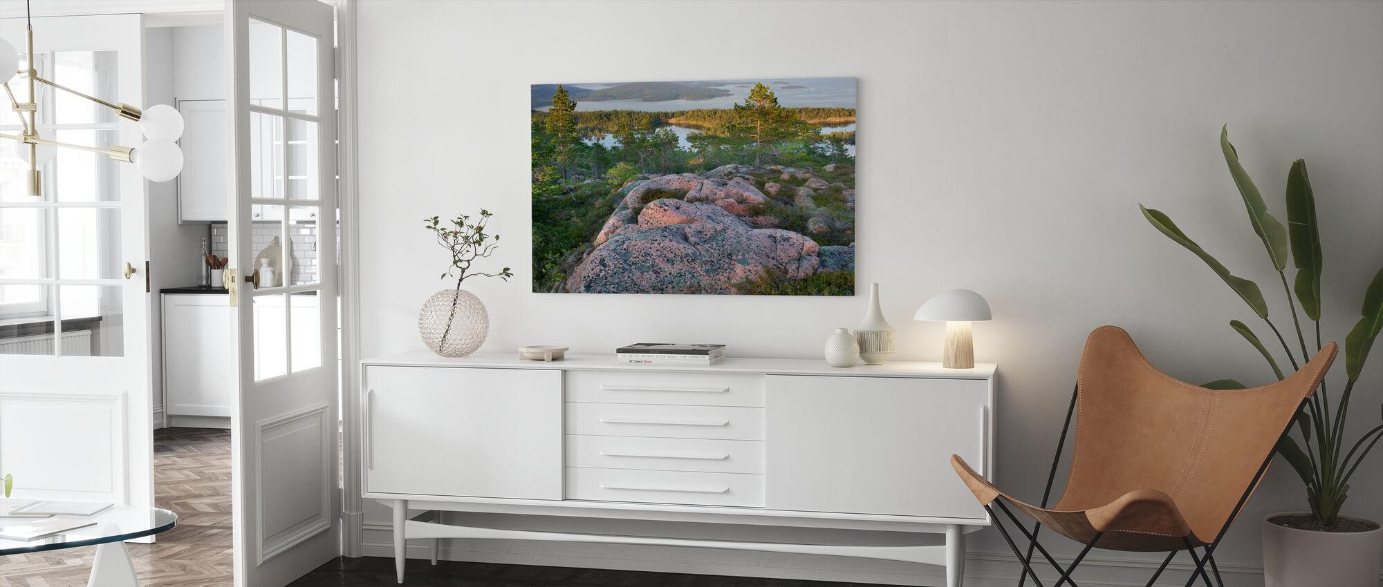 Skuleskogen National Park, Sweden - Canvas print - Living Room