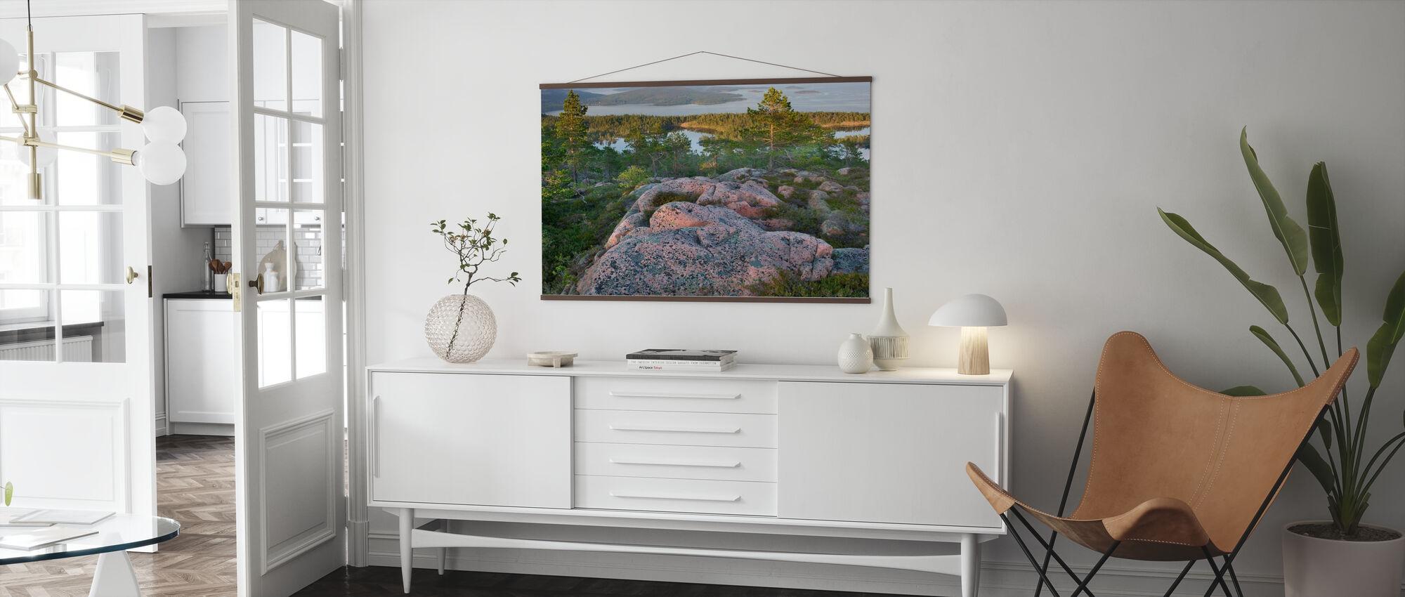 Skuleskogen National Park, Sverige - Poster - Vardagsrum